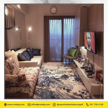 Apartemen One Icon Residence 1 Bedroom Full Furnish dan Mewah